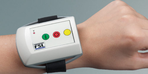 Industrial Remote Control Watch