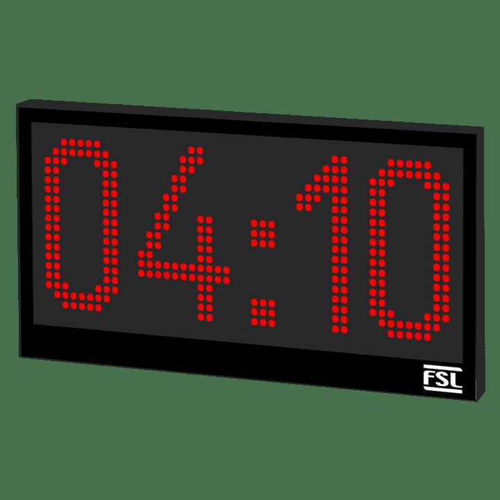 4 Digit Industrial Clock Product Image