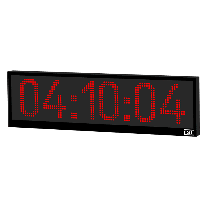6 Digit Industrial Clock Product Image