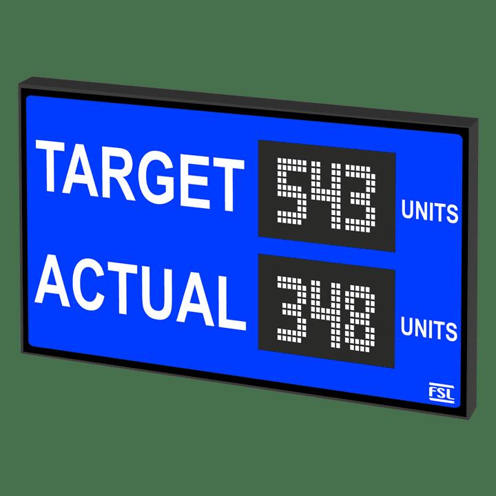 Target / Actual Displays Product Image