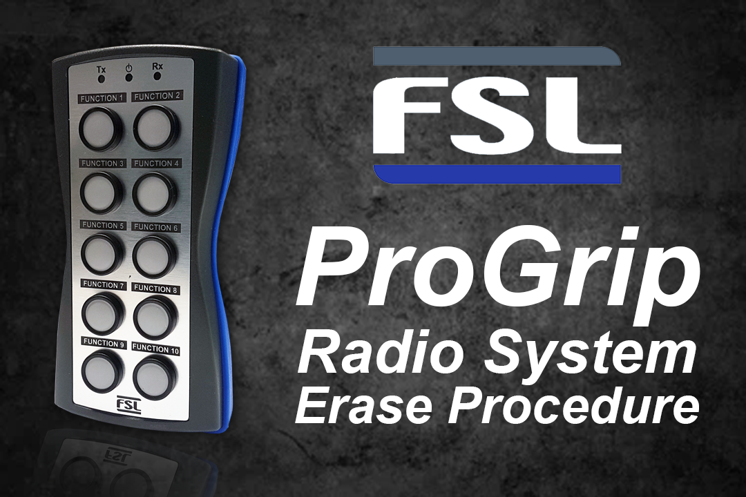 FSL Radio System Erase Procedure Support Video