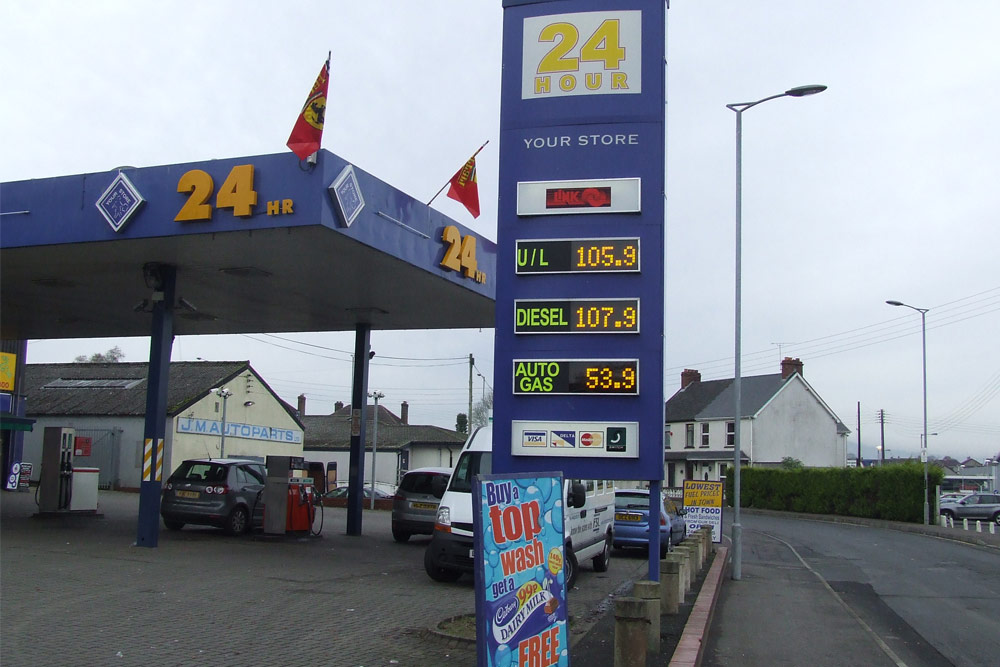 Fuel Price Forecourt Displays