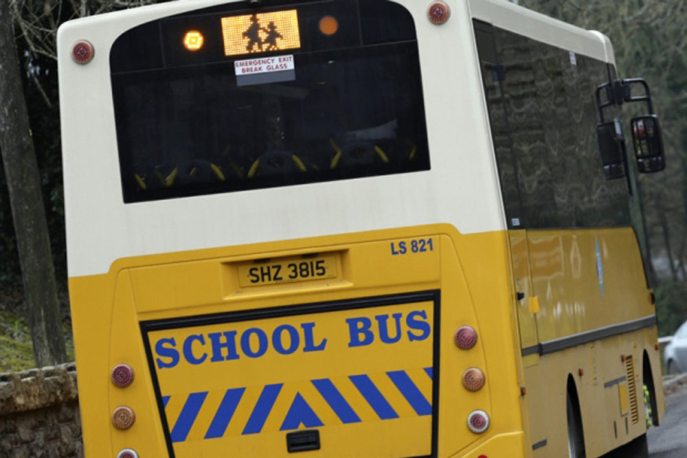 School Bus Warning Signs